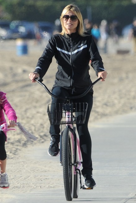 Heidi Klum le 27 décembre 2012 à Santa Monica