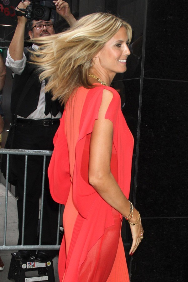 Heidi Klum à New-York le 4 septembre 2012