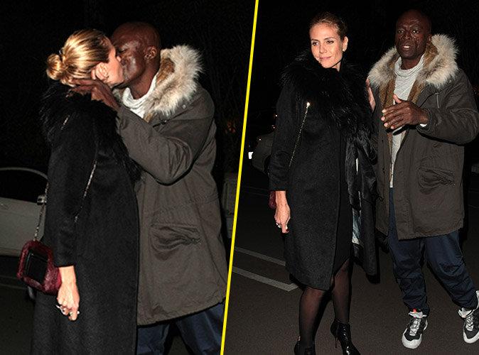 Heidi Klum et Seal : Très proches pour noël, ils partagent un baiser