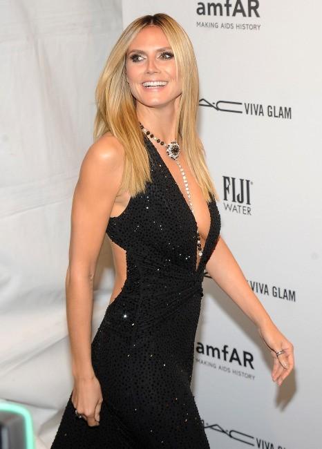 Heidi Klum le 6 février 2013 à New York
