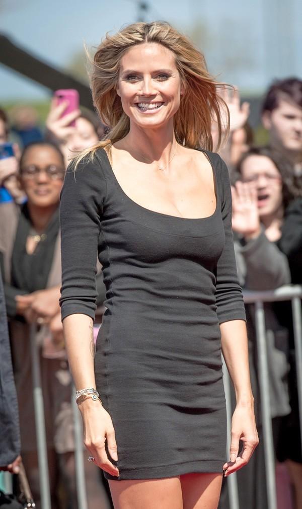 Heidi Klum le 4 mars 2013 à la Nouvelle-Orléans