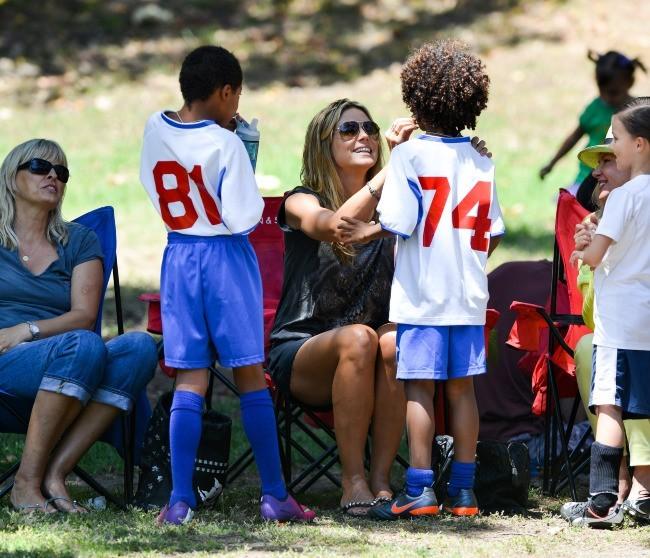 Heidi Klum : soccer mom et sex symbol