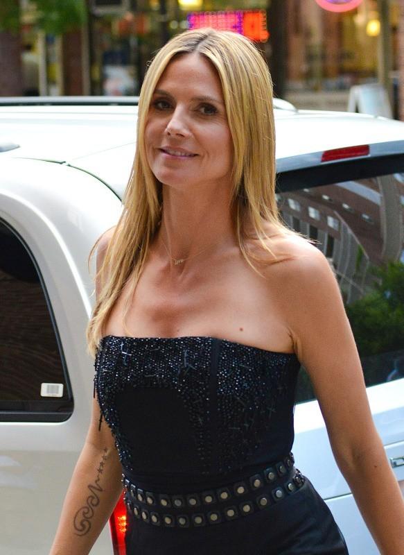 Heidi Klum le 9 juin 2013 à New York