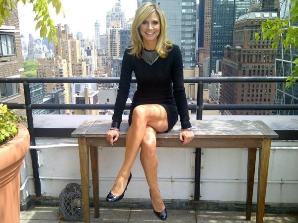 Heidi Klum sublime dans sa robe de secours !