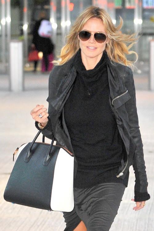 Photos : Heidi Klum : sourire crispé pour une première apparition depuis sa rupture !
