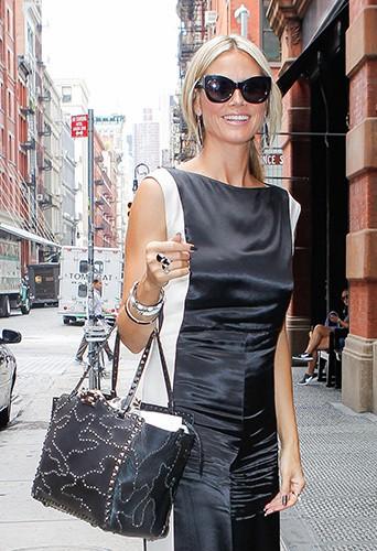 Heidi Klum à New-York le 23 juillet 2013