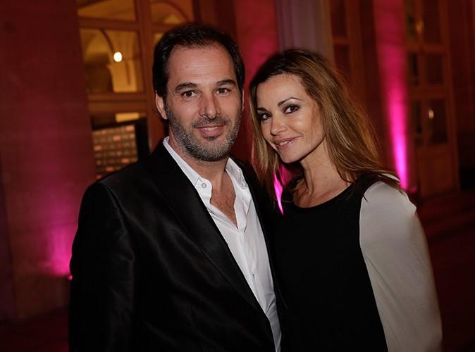 Ingrid Chauvin et son mari à Paris le 4 février 2014