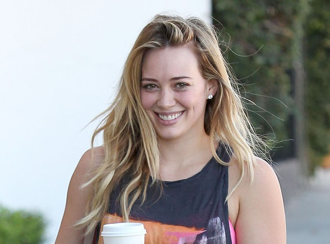 Hilary Duff à Los Angeles le 1er novembre 2013
