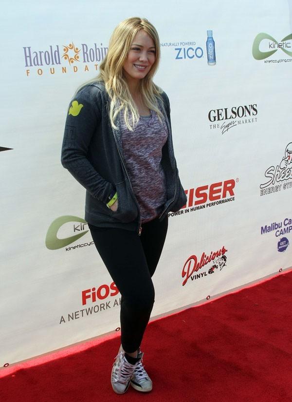 Hilary Duff à Santa-Monica le 3 juin 2012