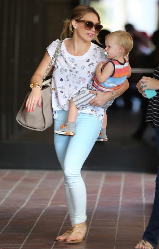 Hilary Duff le 19 juin 2013 à Sherman Oaks, en Californie