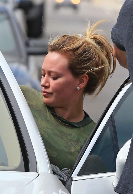 Hilary Duff le 8 octobre 2012 à Los Angeles