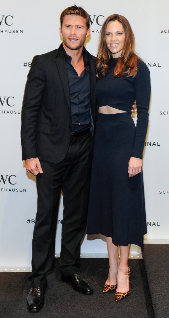 Scott Eastwood et Hilary Swank