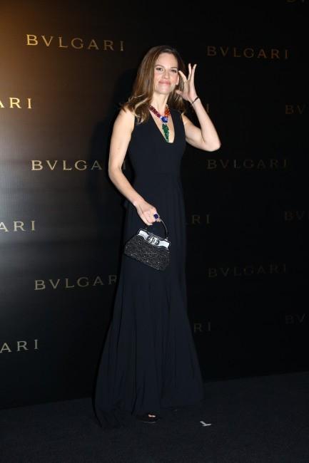 Hilary Swank le 17 janvier 2013 à Hong Kong