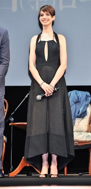 Anne Hathaway le 28 novembre 2012 à Tokyo