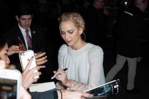 Photos : Hunger Games : Jennifer Lawrence, une première déjantée à Paris !
