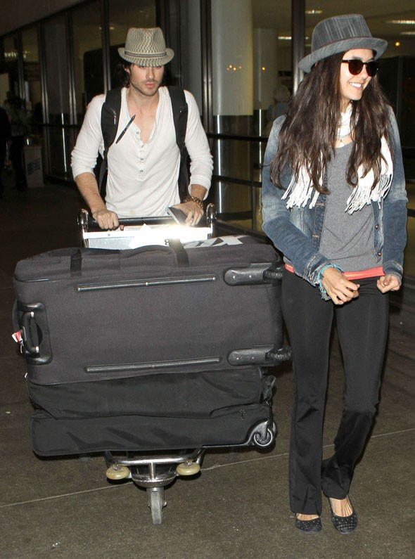 Ian et Nina back to L.A. !