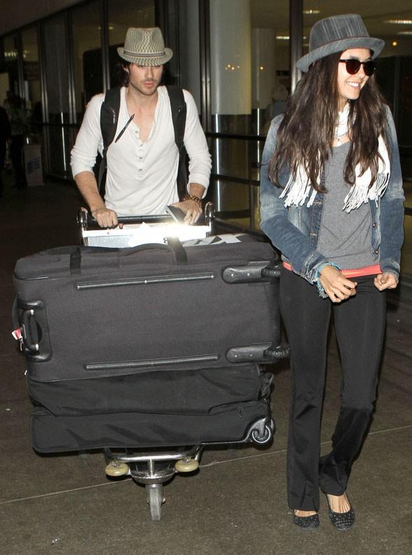 Ian et Nina back to L.A. !