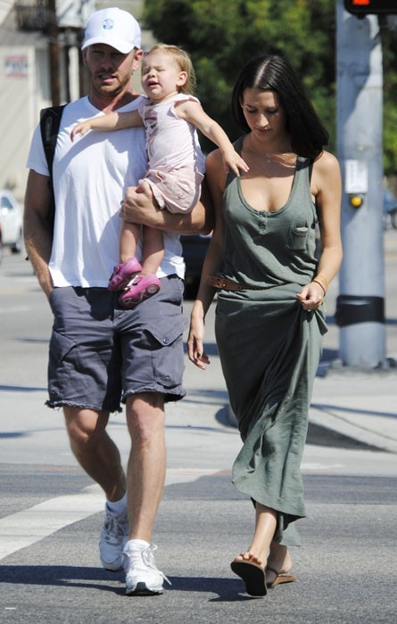 Ian Ziering en famille dans les rues de LA !