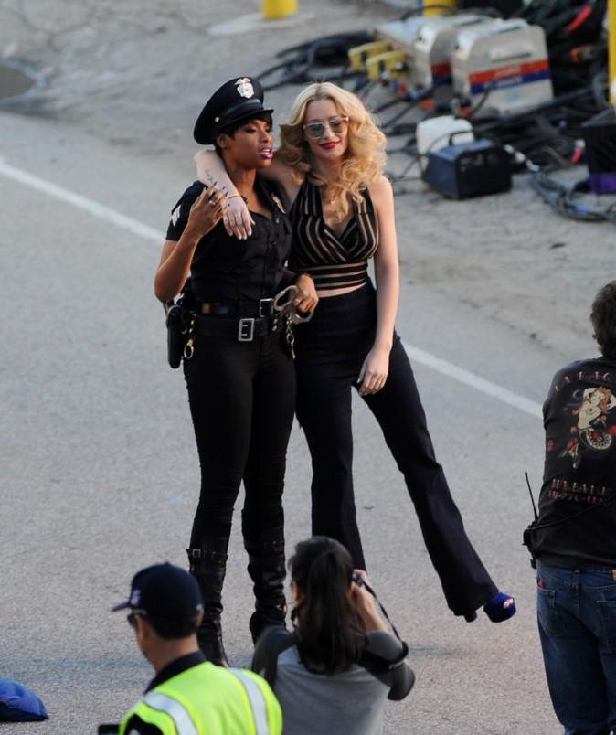 Iggy Azalea et Jennifer Hudson le 1er février 2015