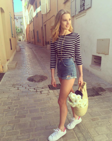 Photos : Ilona Smet : Sa maigreur inquiète les internautes