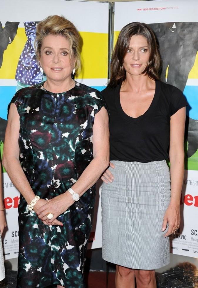 Catherine Deneuve et Chiara Mastroiani