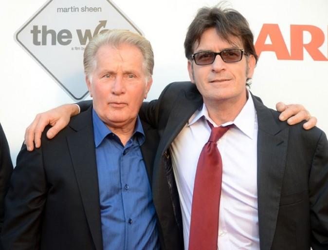 Martin et Charlie Sheen