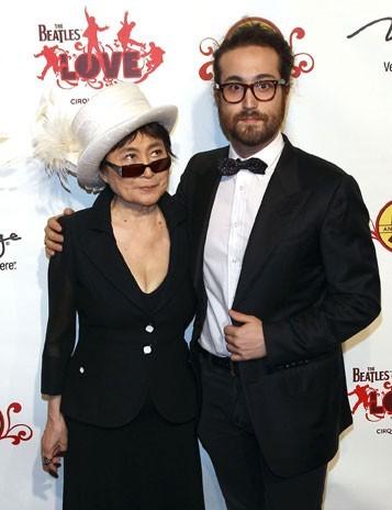 Yoko Ono et Sean Lennon