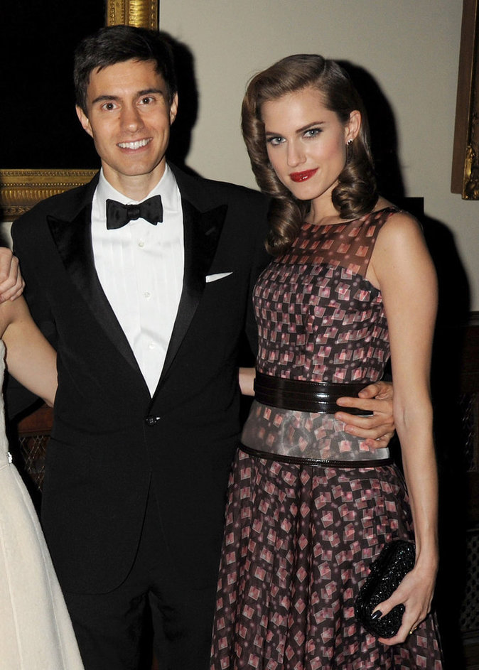Allison Williams et Ricky van Veen