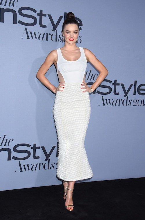 Miranda Kerr à la soirée InStyle Awards 2015, le 26 octobre 2015 à Los Angeles