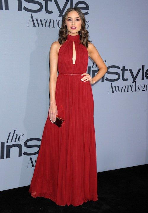 Olivia Culpo à la soirée InStyle Awards 2015, le 26 octobre 2015 à Los Angeles