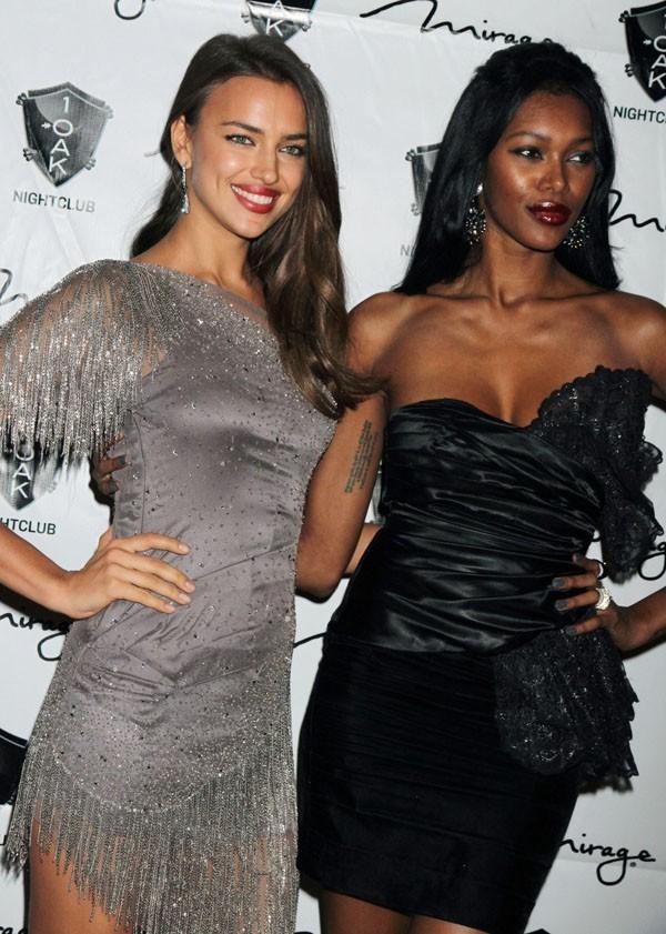 Avec sa BFF Jessica White !