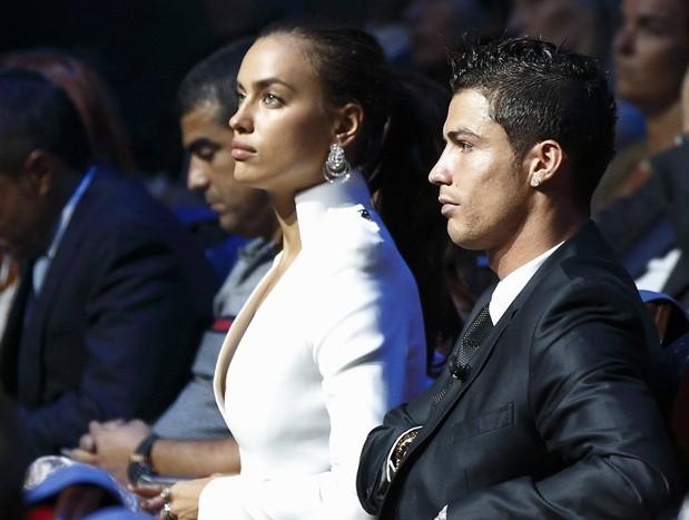 Irina Shayk et Cristiano Ronaldo à Monaco le 30 août 2012
