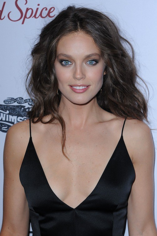 Emily DiDonato à la soirée Sports Illustrated à  New York, le 10 février 2015