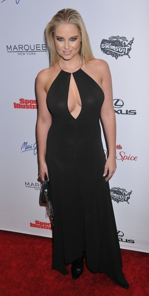Genevieve Morton à la soirée Sports Illustrated à  New York, le 10 février 2015