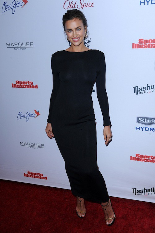 Irina Shayk à la soirée Sports Illustrated à  New York, le 10 février 2015