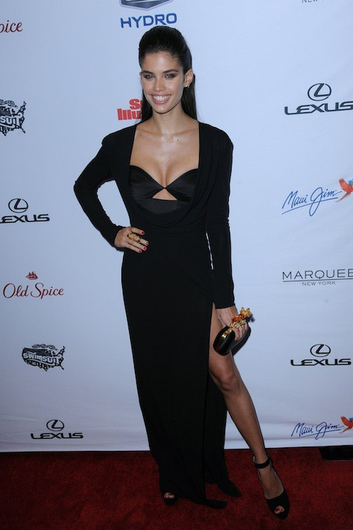 Sara Sampaio à la soirée Sports Illustrated à  New York, le 10 février 2015