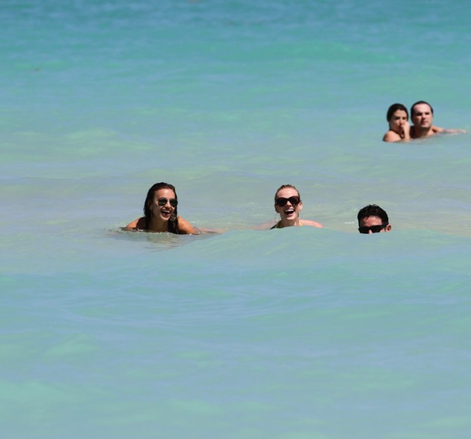 Irina Shayk repérée ce week-end à Miami !