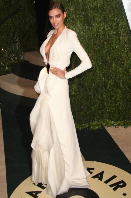 Irina Shayk le 24 février 2013 à Los Angeles