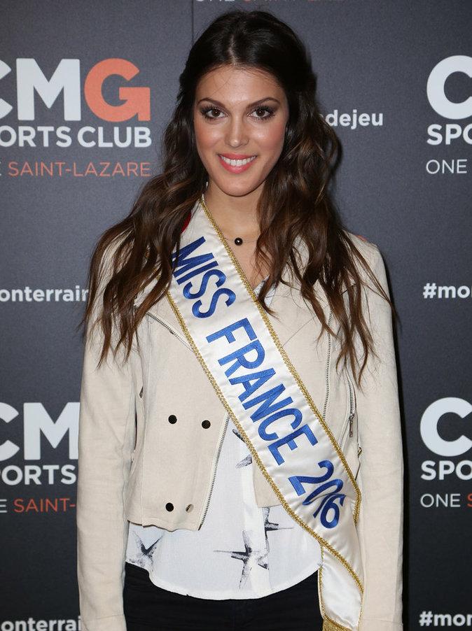 Iris Mittenaere, candidate française à la couronne de Miss Univers