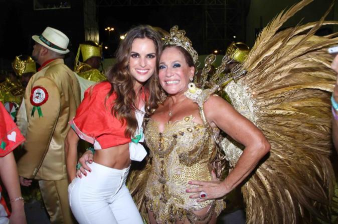 Izabel Goulart : au carnaval de Rio, ce n'est pas l'ange qui porte les ailes !