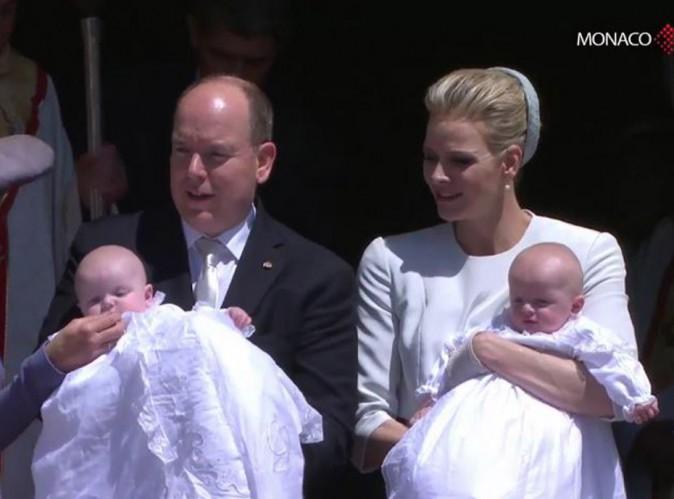 Photos : Jacques et Gabriella de Monaco ont été baptisés !