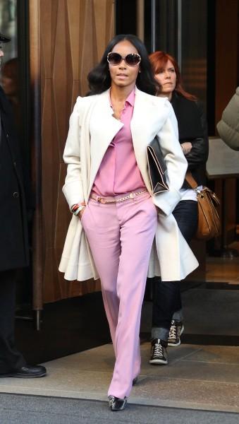 Jada Pinkett Smith le 10 janvier 2013 à New York