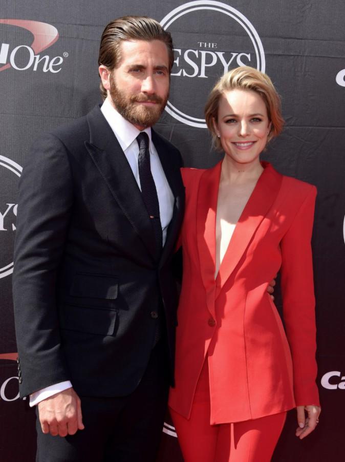 Jake Gyllenhaal et Rachel McAdams le 15 juillet 2015