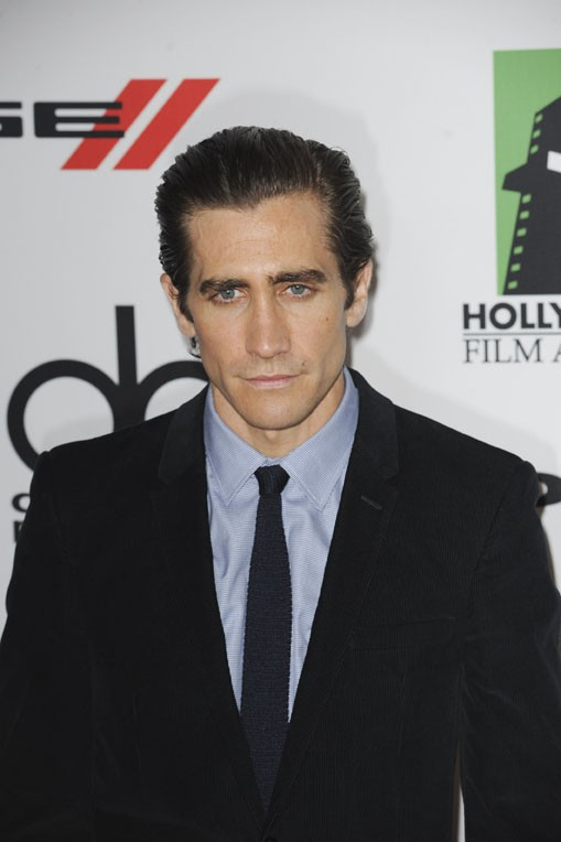 Jake Gyllenhaal sur le tapis rouge des Hollywood Film Awards, à Los Angeles, le 21 octobre 2013