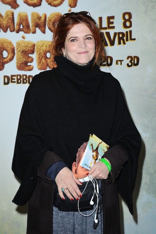 Agnès Jaoui à la première de Pourquoi j'ai pas mangé mon père à Paris, le 29 mars 2015