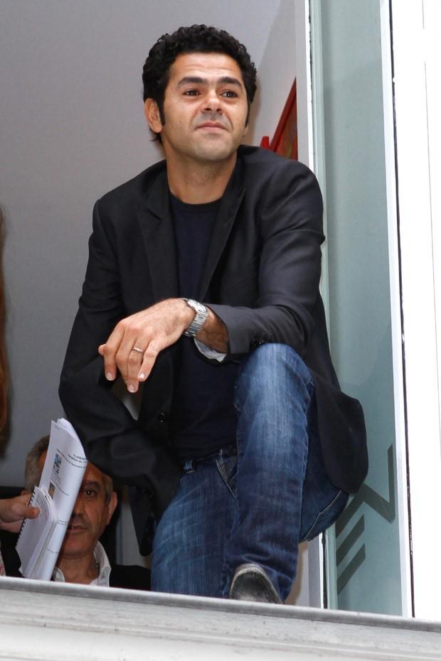Jamel Debbouze à la vente aux enchères en soutien à Florence Cassez le 16 juin 2012