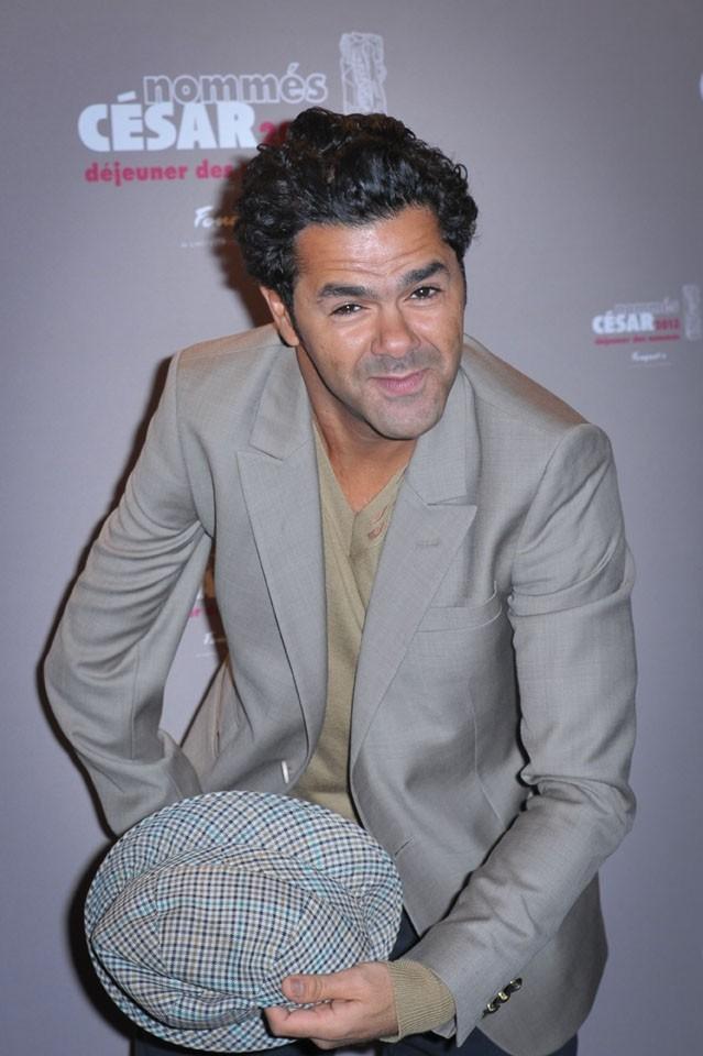Jamel Debbouze au déjeuner des nommés des César, au Fouquet's, à Paris, le 2 février 2013
