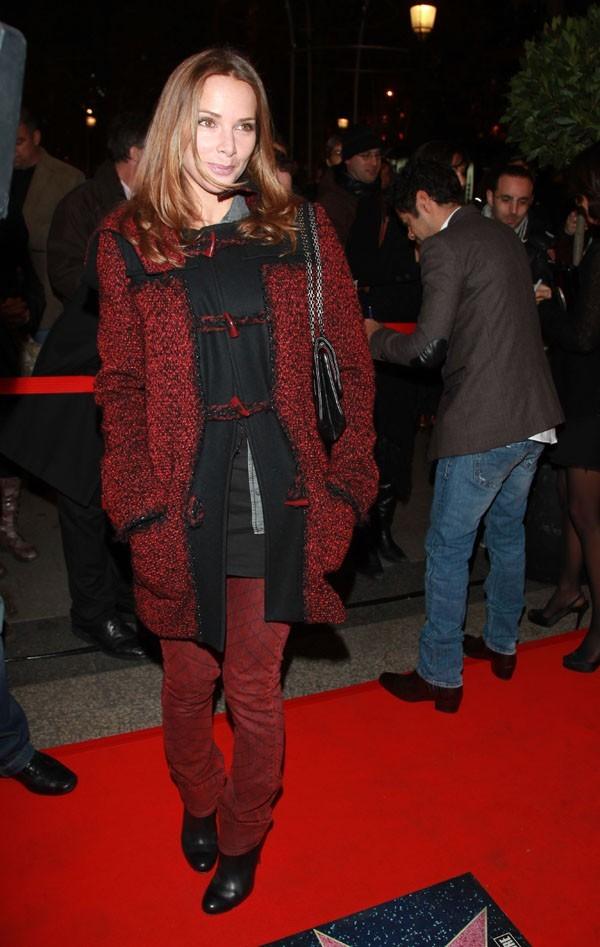 Melissa aime le rouge !