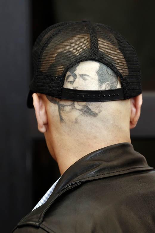James Franco à la Mostra de Venise le 5 septembre 2014