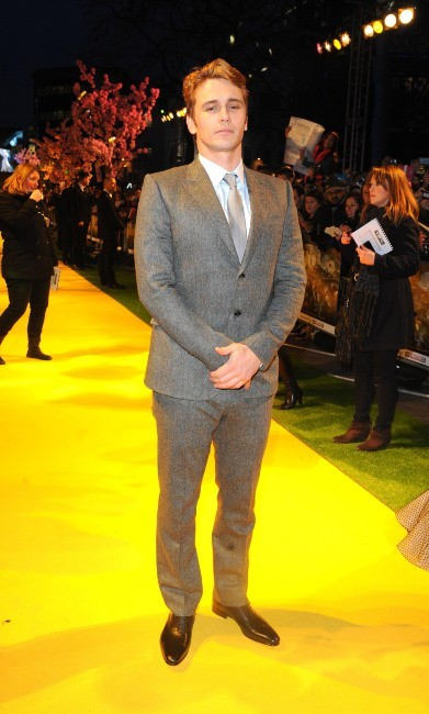 """James Franco lors de la première du film """"Le Monde Fantastique d'Oz"""" à Londres, le 28 février 2013."""